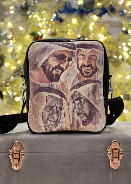 UAE Fathers Art Messenger Bag