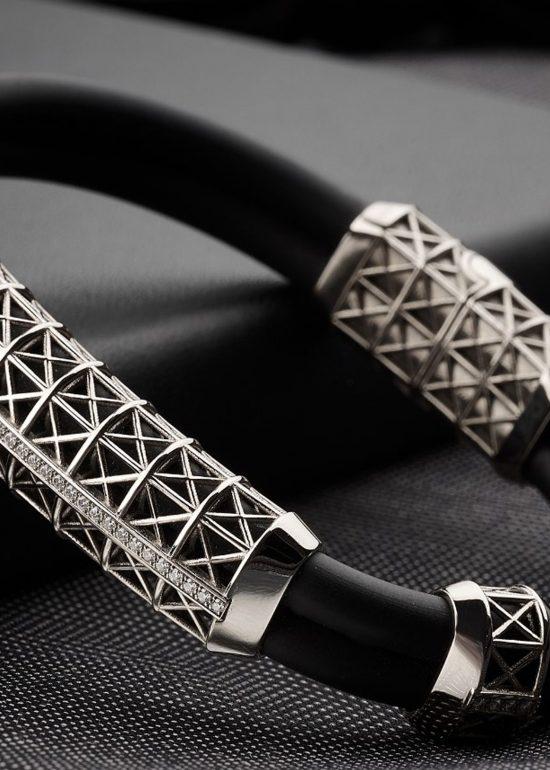 Giberg-Bracelet  White Gold